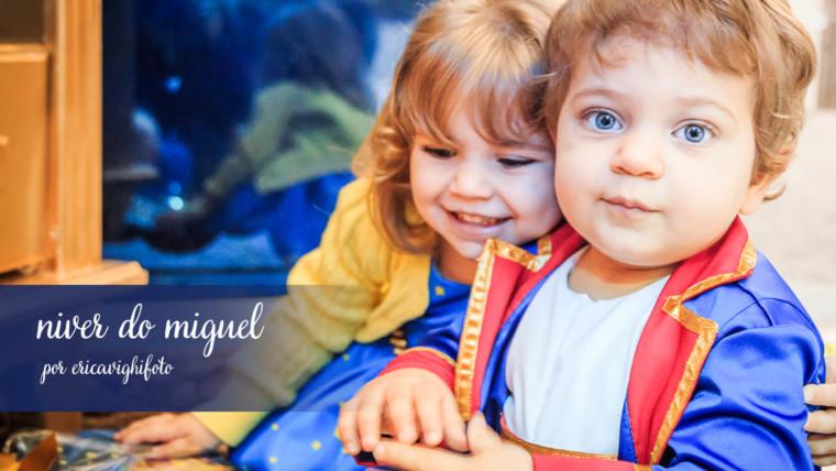 Aniversário de um aninho do Miguel – a festa