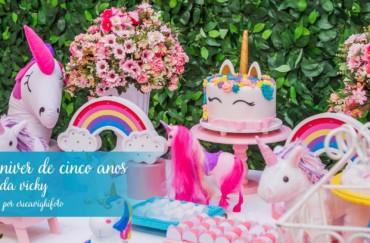 Aniversário de cinco anos da Vicky